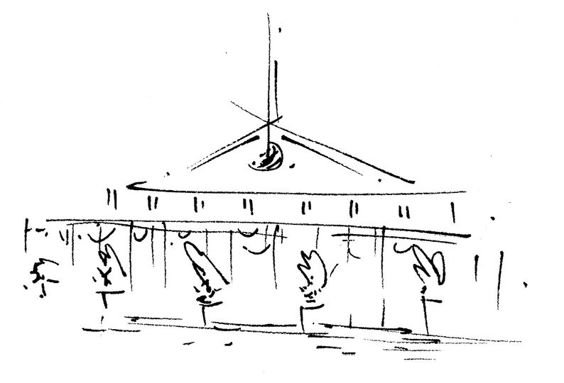 Sketch of The Wharf