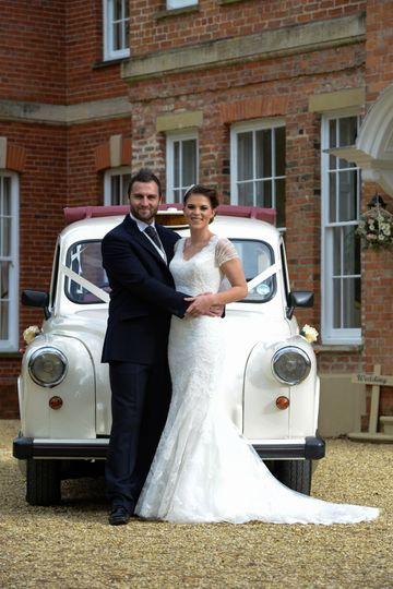 London taxi wedding car
