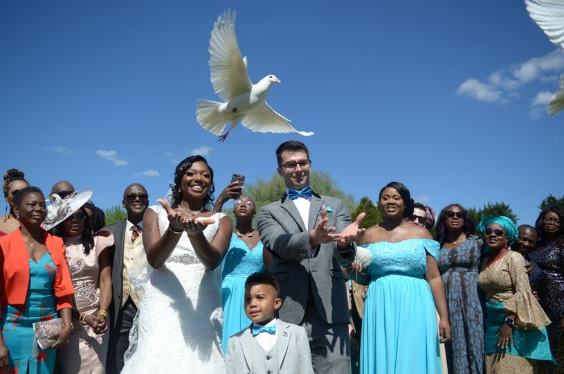 Couple releases doves