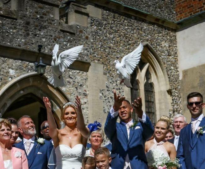 Angel Wings Dove Release