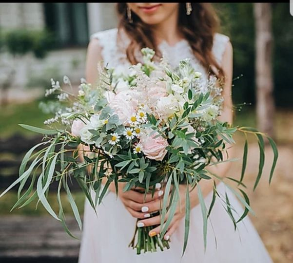 Bridal bouquet - Hat & Feather Photography