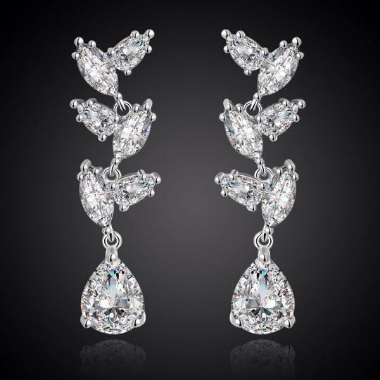 Silver Juliana Earrings