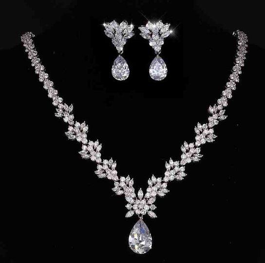 Naples cubic zirconia necklace