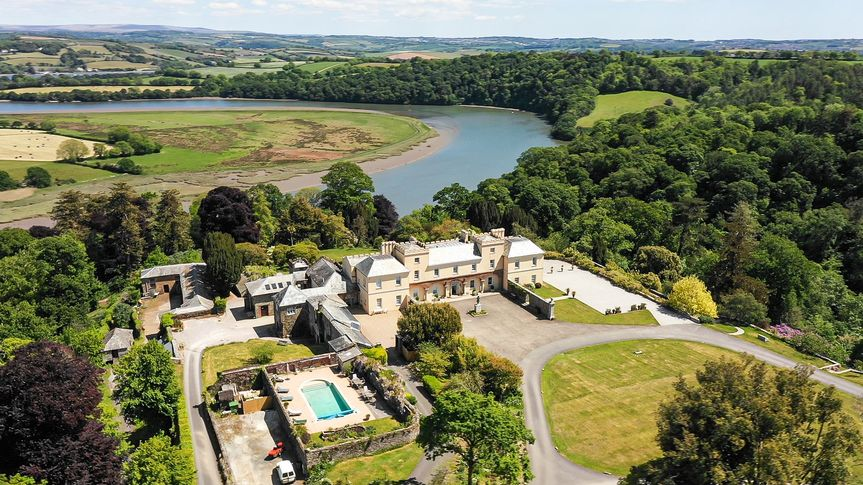aa pentillie castle with pool pentillie drone stills kite vision 1 of 19 4 191787 159576659192307
