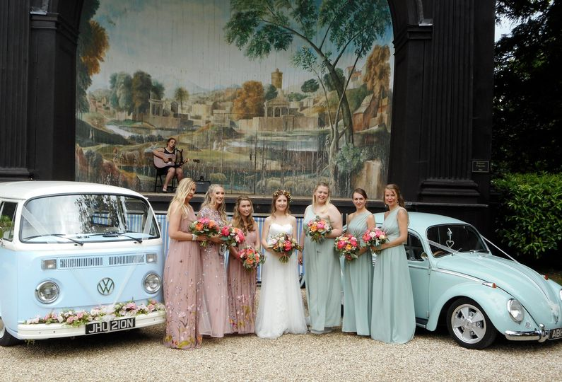 Larmer Tree wedding