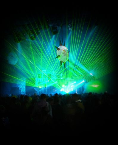 Club event lasers