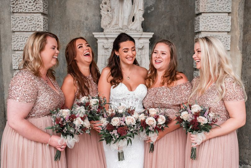 Bridal party - Natalie Chiverton Photography