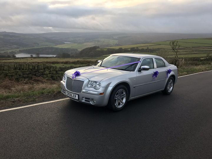 Silver Chrysler 300c