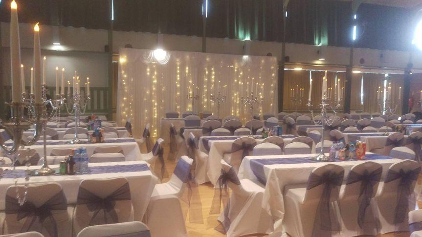 Full venue decor set up