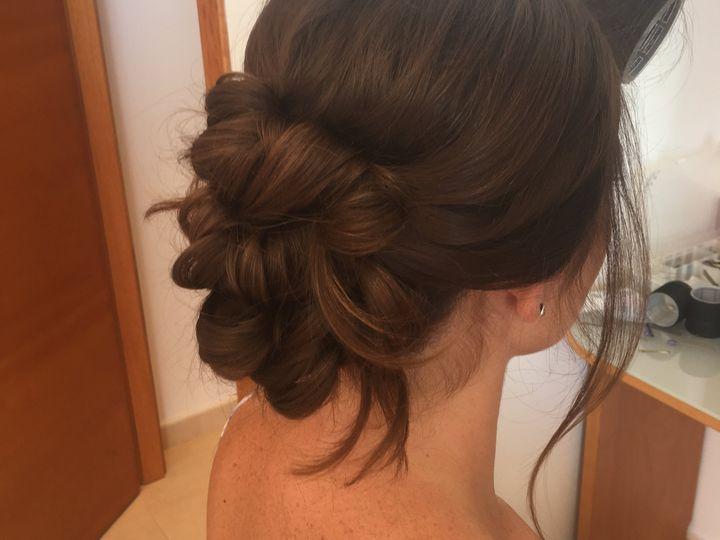 Pretty hair up