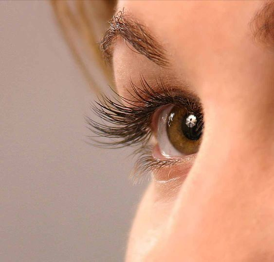 Beautiful lashes