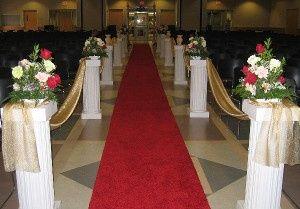 Walkway Pillars