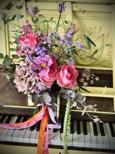 Boho festival florals