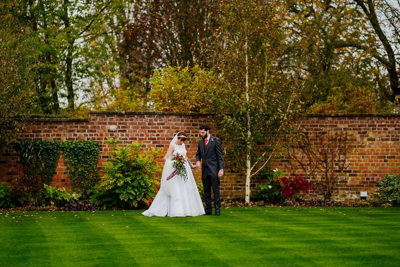 Colshaw Hall wedding in autumn