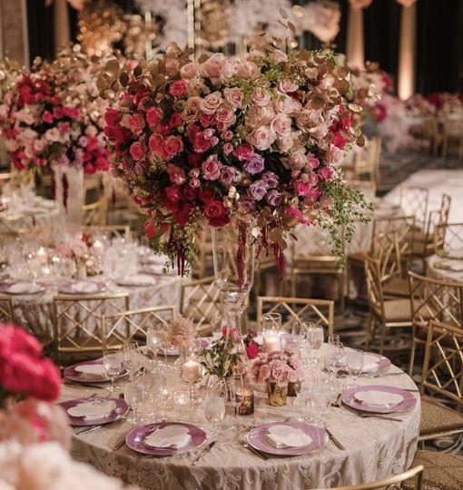 Modern chic florals