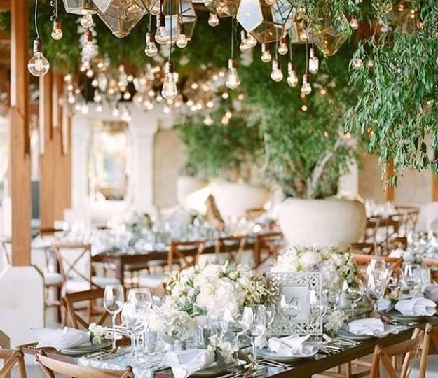 Rustic and modern fusion florals