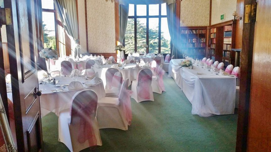Dusky Pink at Lilleshall