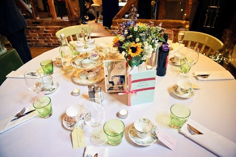 Vintage Table Setting