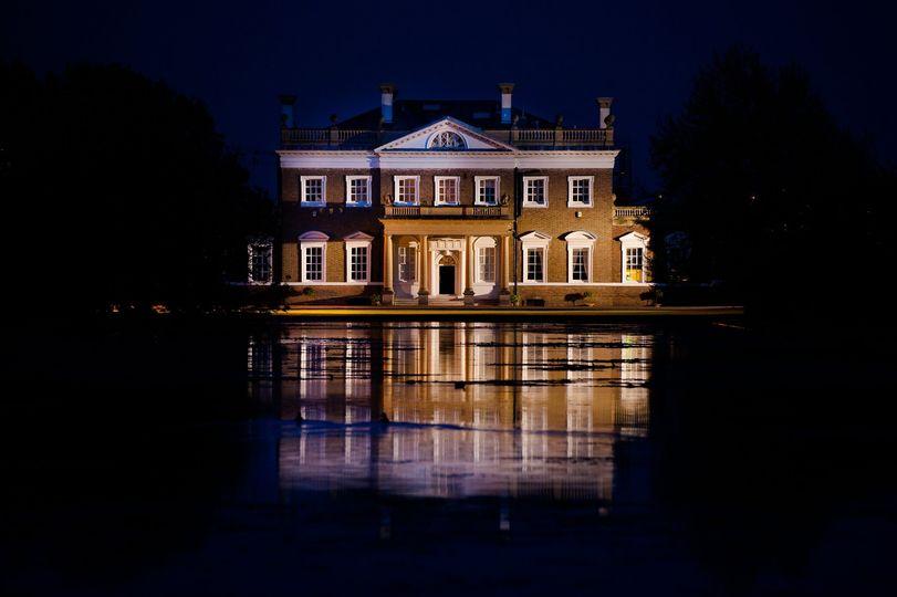 Boreham House at Night