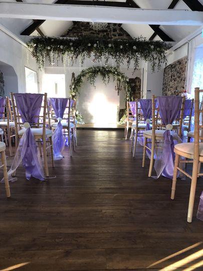 Lilac sash
