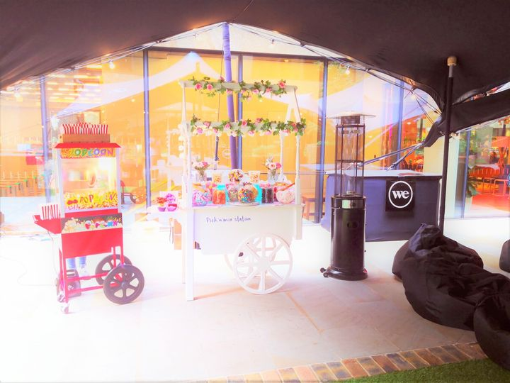 Popcorn machine hire office party