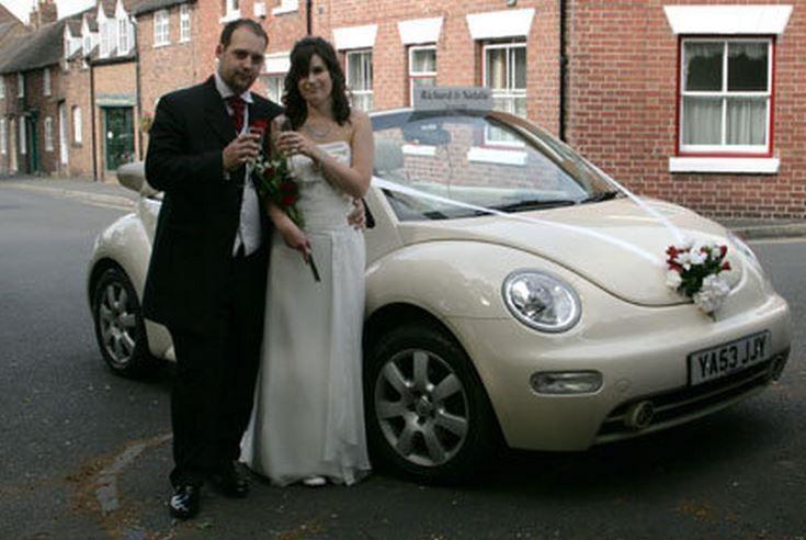 Daisy at wedding