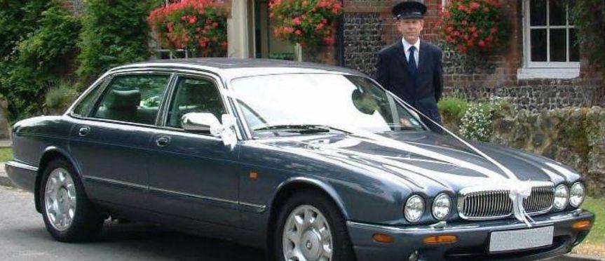 Plush and opulent wedding cars