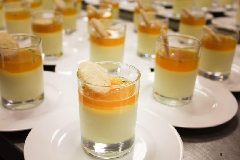 Delicate desserts
