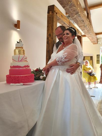 Joanne & Frank's special day