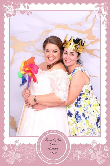 Wedding at Quorn Loughborough 7 Colours Photobooths