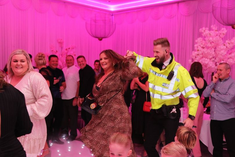 Dancing with the police