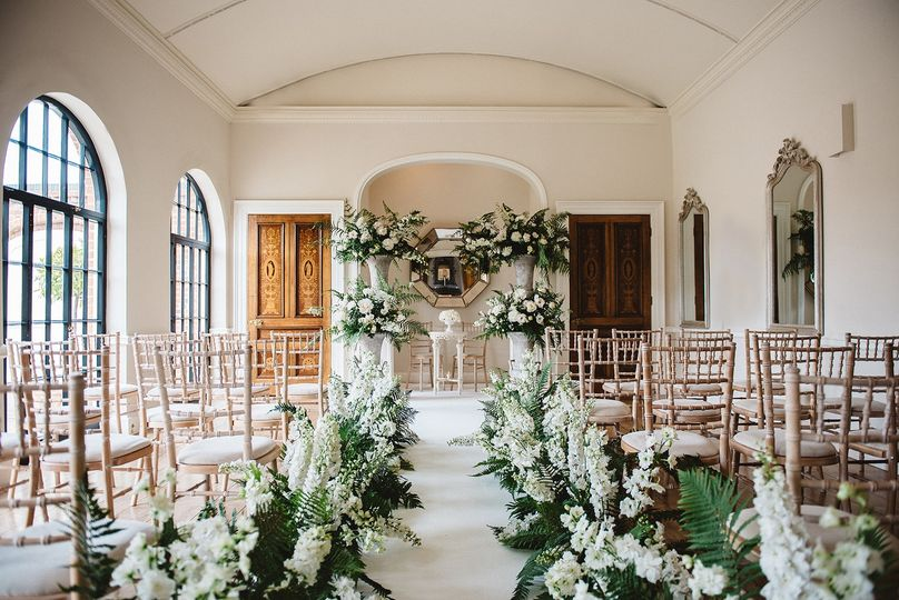 A Civil Ceremony in The Orangery