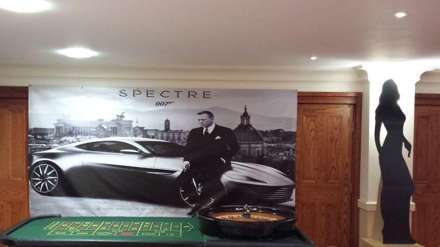 Casino Bond backdrop