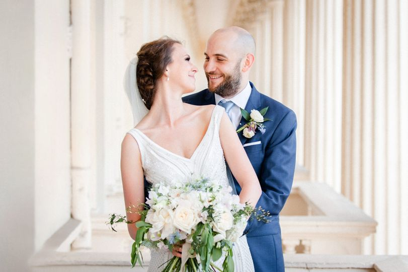 Portrait of the bride and groom - Erika Rimkute Photography