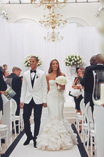 Rochelle and Marvin Humes Wedd