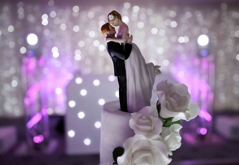 Beautiful cake topper