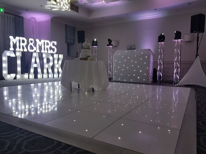 Custom lighting sign