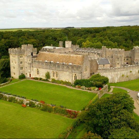 Lovely St Donat's Castle