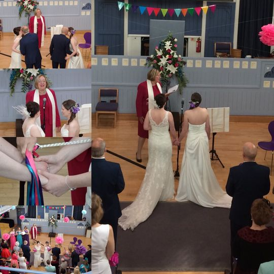 Fabulous faith based ceremony in Nottinghamshire