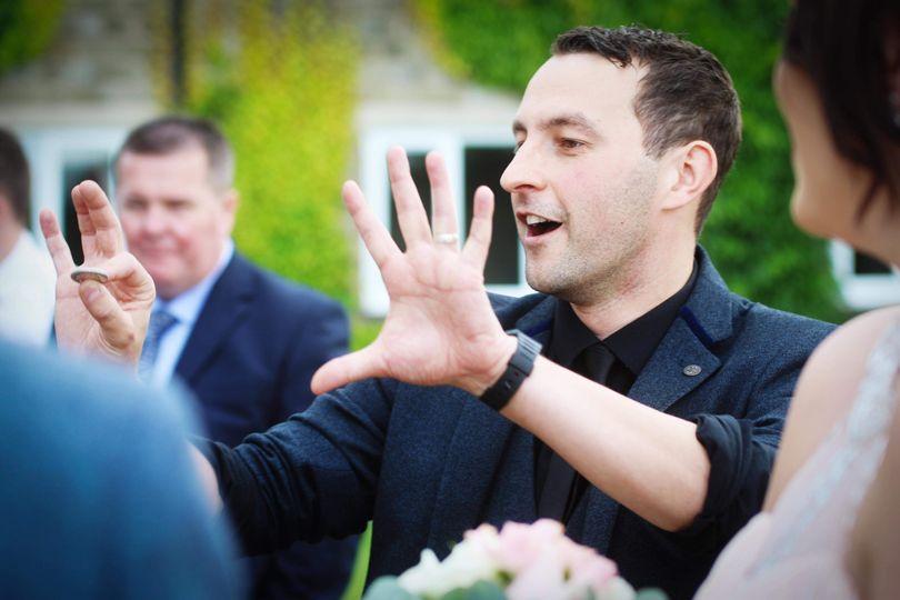 Chris Stewart Wedding Magician