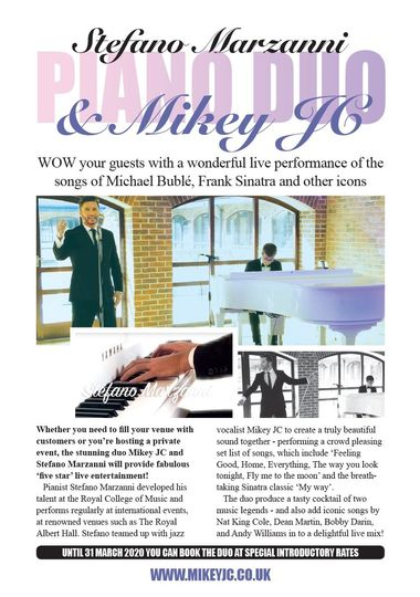 Music and DJs Michael Bublé Wedding Singer - Mikey JC 19