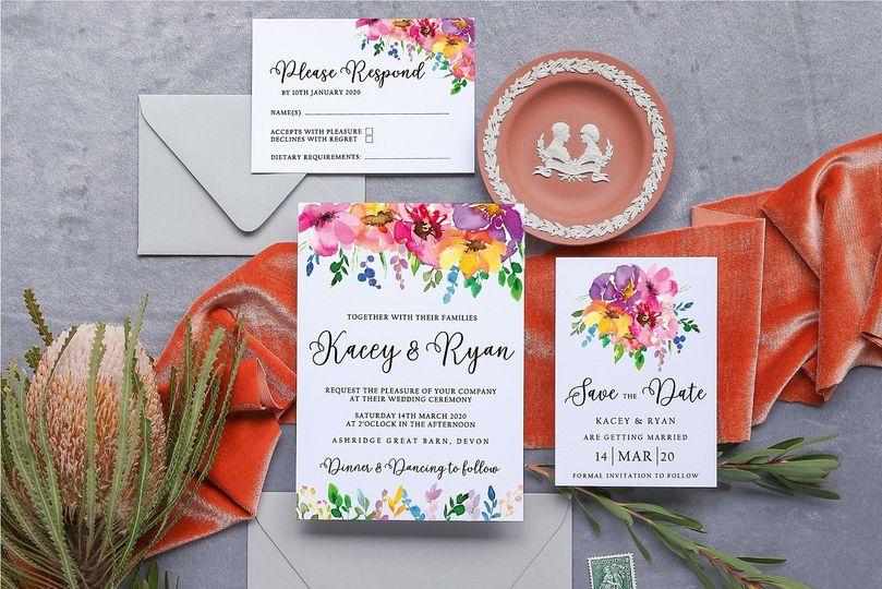 Bright Floral Wedding Suite