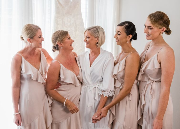 CSP- Beautiful bridal party