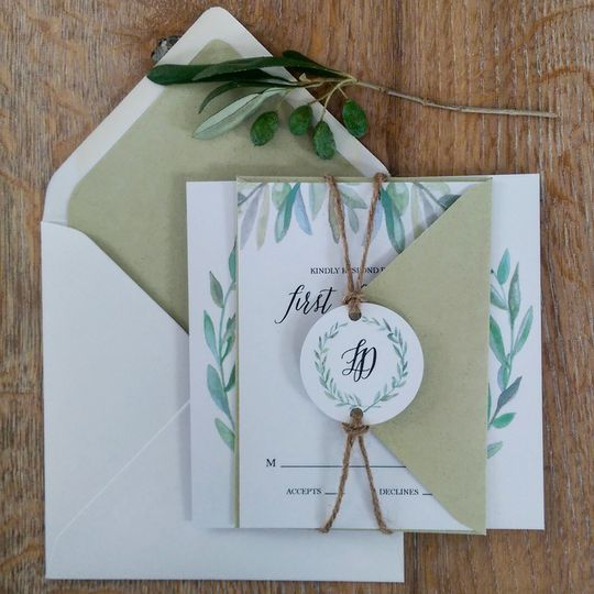 Paperzoo - Olive Collection