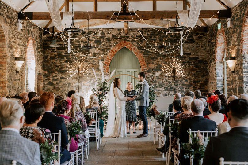 Humanist wedding by Emma Kenny