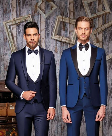 Tuxedos in different colours