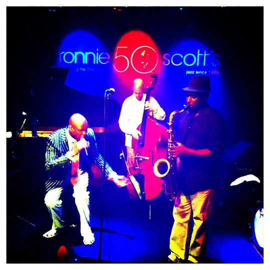 Richie Playing at Ronnies Scotts