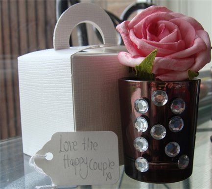 Personalised Candle and Tag