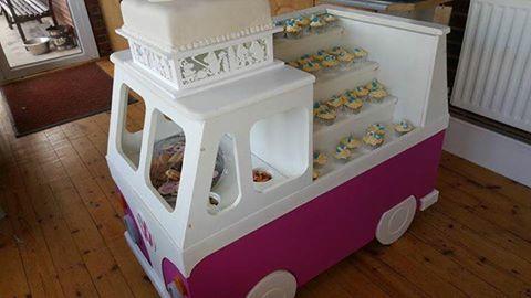 Campervan Candycart or Cakecar