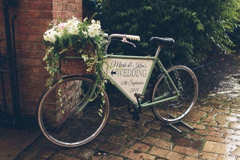 Vintage Bike personalised
